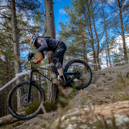 Photo of William SUTHERLAND (mas) at Laggan Wolftrax