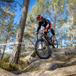 Photo of Douglas GOODWILL at Laggan Wolftrax