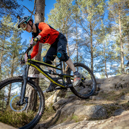 Photo of Ethan MCKENZIE at Laggan Wolftrax