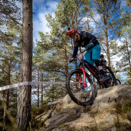 Photo of Matthew JONES (mas) at Laggan Wolftrax