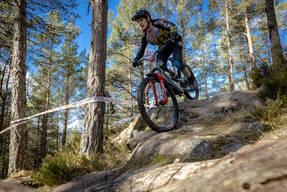 Photo of Darren SCOTT at Laggan Wolftrax
