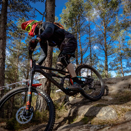 Photo of Finlay SMAIL at Laggan Wolftrax