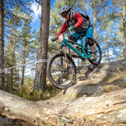 Photo of Neil BUYERS at Laggan Wolftrax