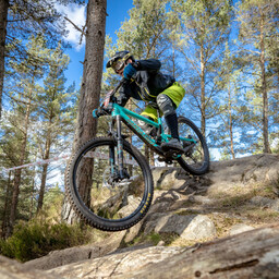 Photo of Douglas LONDON at Laggan Wolftrax