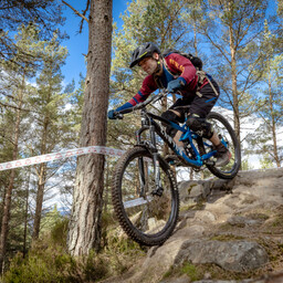 Photo of Mark CROCOMBE at Laggan Wolftrax