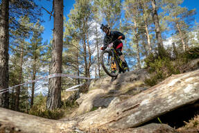 Photo of Lee MORRISON at Laggan Wolftrax