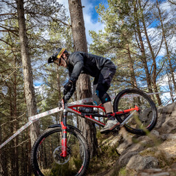 Photo of Thomas MOORE (sen) at Laggan Wolftrax