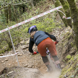 Photo of Becky COOK at Afan