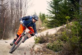 Photo of Jo CURTIS at Laggan Wolftrax
