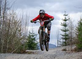 Photo of Anthony HAY at Laggan Wolftrax