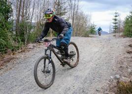 Photo of Richard HAY at Laggan Wolftrax