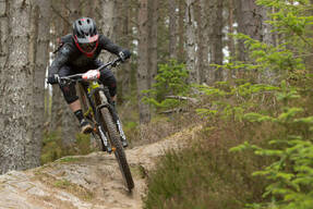 Photo of Mike ELLINGTON at Laggan Wolftrax