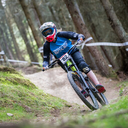 Photo of Megan LACY at Innerleithen