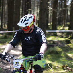 Photo of Brian COONEY (50+) at Ballinastoe Woods, Co. Wicklow