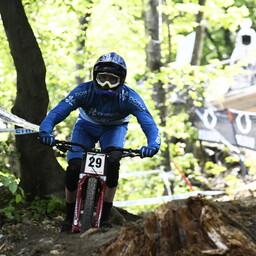 Photo of Baptiste PIERRON at Maribor