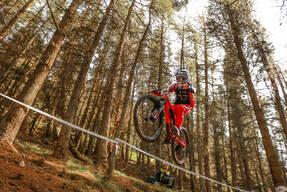 Photo of Jay LAUDER at Innerleithen