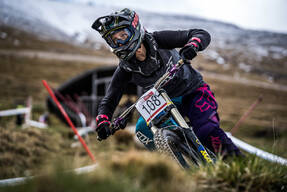 Photo of Monika MIXOVA at Fort William
