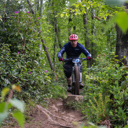 Photo of Karl BRESLIN at Big Wood, Co. Down