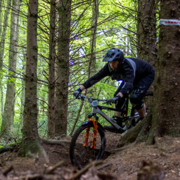 Photo of Andrew COBURN at Big Wood, Co. Down