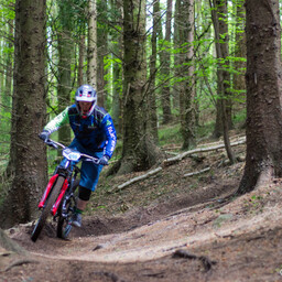 Photo of Lee SMYTH at Big Wood, Co. Down