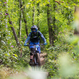 Photo of Charlie ROSS at Big Wood, Co. Down