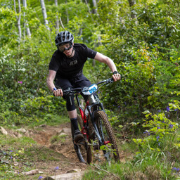 Photo of Adam VOSS at Big Wood, Co. Down
