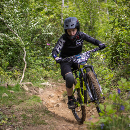 Photo of Ollie THOMPSON at Big Wood, Co. Down