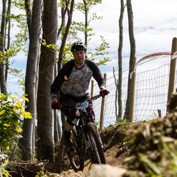 Photo of Matt VERNON at Big Wood, Co. Down
