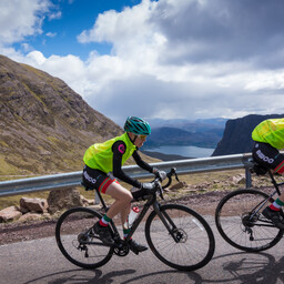 Photo of Fergus WHITESIDE at Bealach Mor