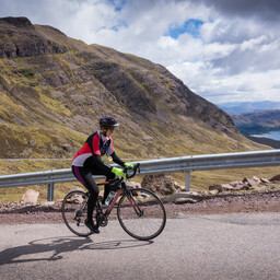 Photo of Rachel DIXON at Bealach Mor