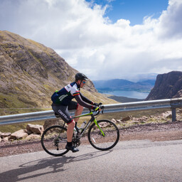 Photo of Chris TOWERS at Bealach Mor