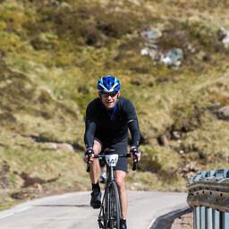 Photo of Chris PEARCE (vet) at Bealach Mor