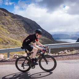 Photo of George GRAHAM at Bealach Mor