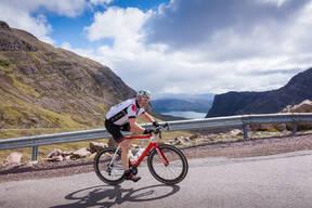 Photo of Stuart MORRISON (gvet) at Bealach Mor