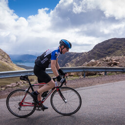 Photo of Dave CLEMENT at Bealach Mor