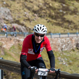Photo of Mike BURCHELL at Bealach Mor