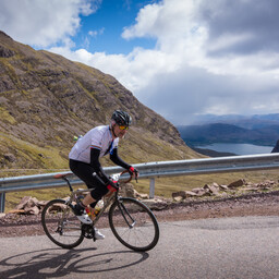 Photo of John BOND at Bealach Mor