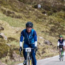 Photo of Lucy JONES at Bealach Mor