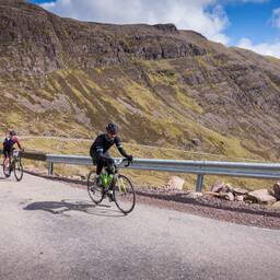 Photo of Andrew CONWAY at Bealach Mor