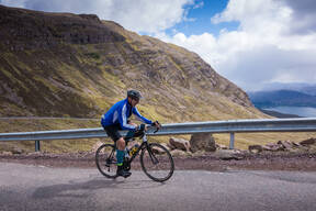 Photo of Alistair BARNARD at Bealach Mor