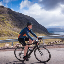Photo of Andrew TODD at Bealach Mor