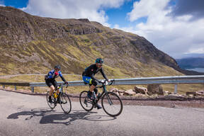 Photo of Andrew BUXTON (gvet) at Bealach Mor