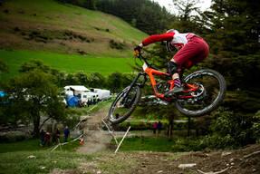 Photo of Daniel ROBERTSON (jun) at Berwyn