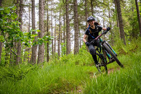 Photo of Katy BLAKE at Glentress