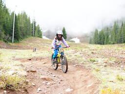 Photo of Noemie AUBIN at Mt Hood, OR
