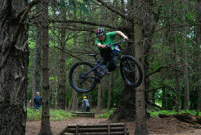 Photo of Brendan CONROY at Barnaslingan Forest
