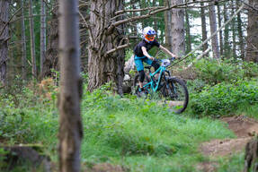 Photo of Rider 87 at Barnaslingan Forest