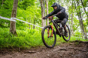 Photo of Johnny BOUCH at Innerleithen