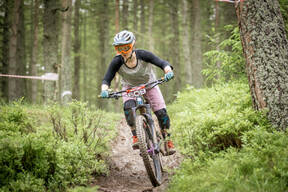 Photo of Louise HAGGARTY at Innerleithen