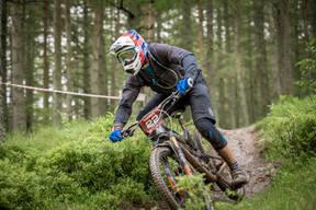 Photo of Aidan COULTHARD at Innerleithen